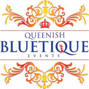Queenish Bluetique Events Logo