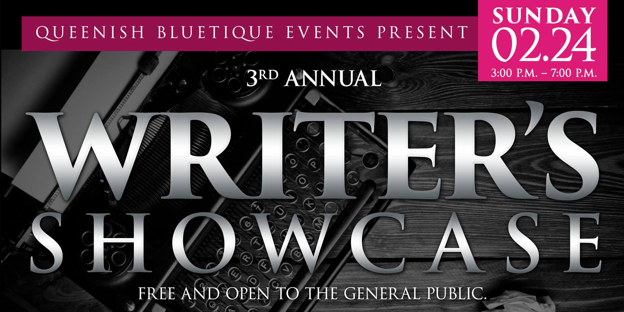 2019 Writer's Showcase - Queenish Professional Women's Club